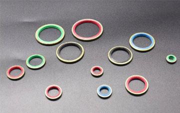 Hochtemperaturbeständiger O-Ring aus Fluorkautschuk