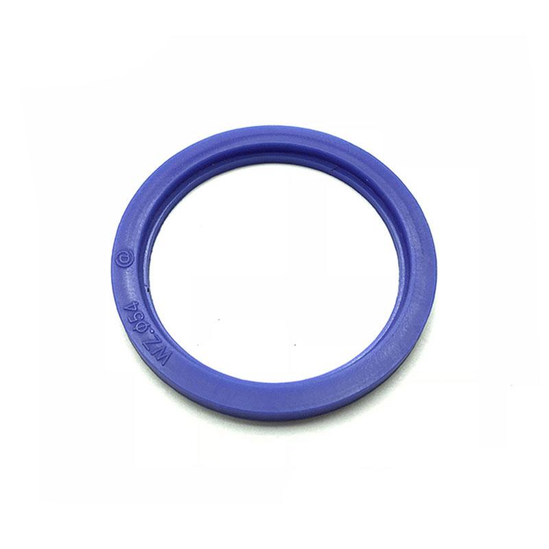 Blaue Ferrule-Silikondichtung in verschiedenen Standardgrößen