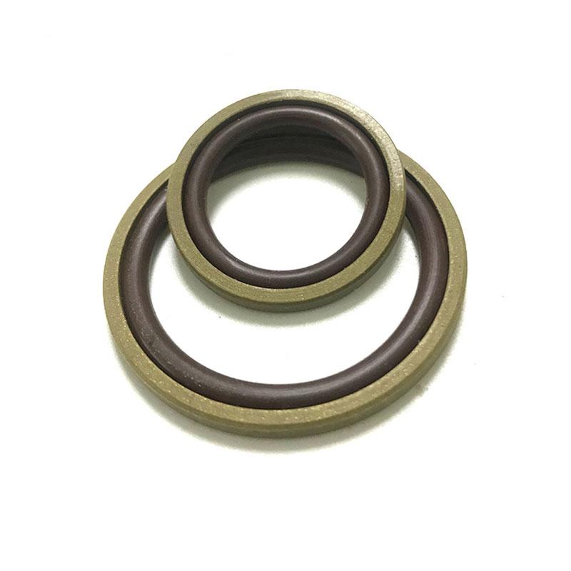 PTFE + Kupferdichtung und NBR-O-Ring kombiniert